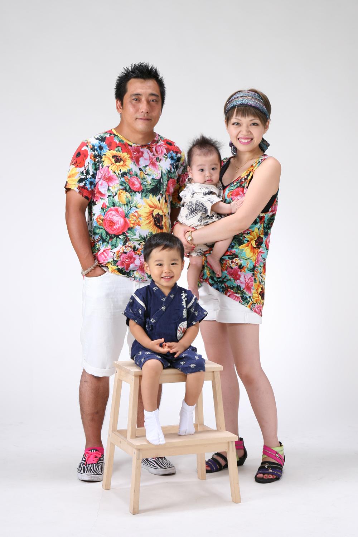 フォトテリアの家族写真