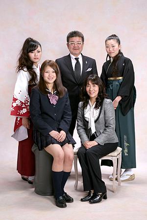 写真館フォトテリアの卒業卒園記念